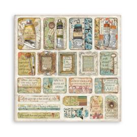 Paper Pack 'Atelier des Arts' 30 x 30 cm