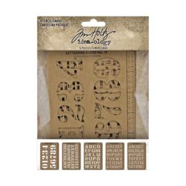 Tim Holtz 'Stencil Cards'