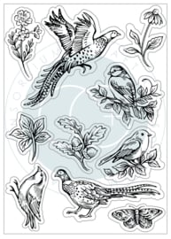 Woodland Clear Stamps 'Birds'
