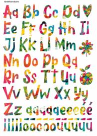 A4 Knipvel Alfabet
