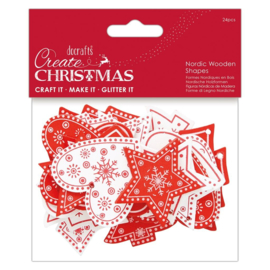Create Christmas 'Nordic wooden shapes'