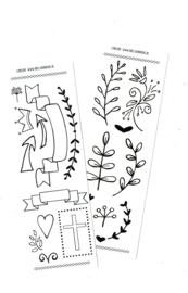 'Botanisch & Banners'  sjabloon