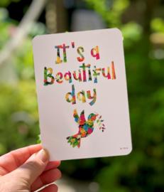 By Kris kaart 'Beautiful Day'