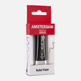 Amsterdam Relief Paint 'Zwart'