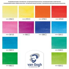 Van Gogh watercolor 'Vibrant colors'