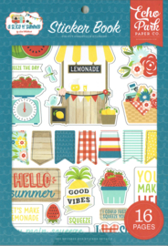 Sticker Book 'A slice of Summer'