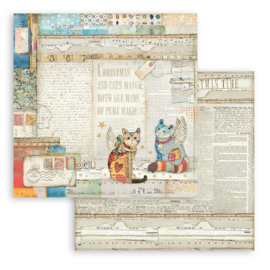 Stamperia Patchwork Christmas 'Paperpack'  30 x 30 cm