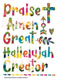 Bible Journaling Knipvel 'Praise'