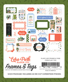 'Plant Lady' Frames and Tags