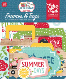 'A slice of Summer' Frames & Tags
