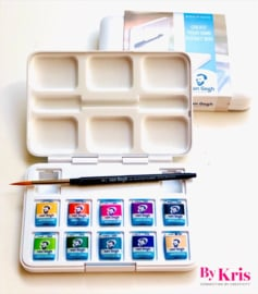 Watercolor pocketbox 'Kris'