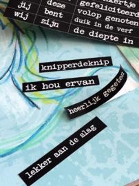 By Kris Knipvel 'Woorden voor journaling'