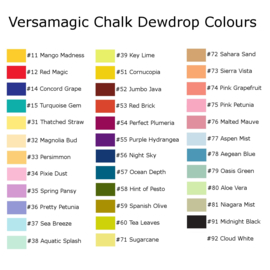 VersaMagic chalk inkt 'Midnight black'