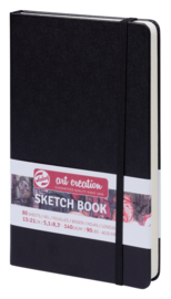 Art Creation sketchbook 'Black' 13 x 21