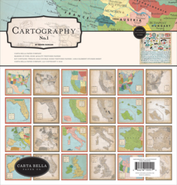'Cartography' collection kit