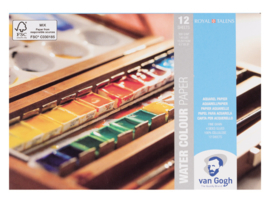 Aquarelpapier, schetsboeken en art journals