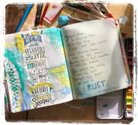Bible journaling weekend Orvelte 6-8 maart 2020