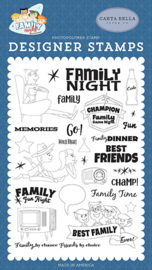 'Family time' designer stamps