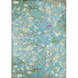 Rice paper 'Atelier Van Gogh Blossom'