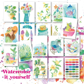 Watercolor it yourself 8. 'Kommetjes'