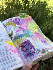 Knipvellen voor Bible journaling