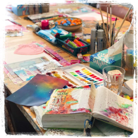 'Workshop bible journaling / faith booking'  21 maart 2020