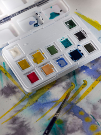 Van Gogh watercolor 'Muted Colors'