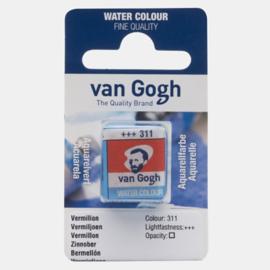 van Gogh Water Color napje 311 'Vermiljoen'
