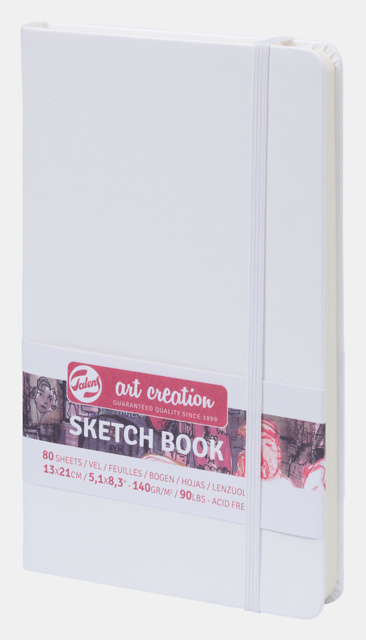 Art Creation sketchbook 'White' 13 x 21