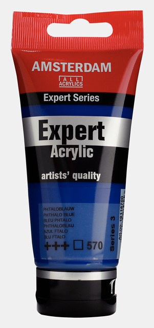 Amsterdam Acrylverf Expert 'Phtaloblauw'