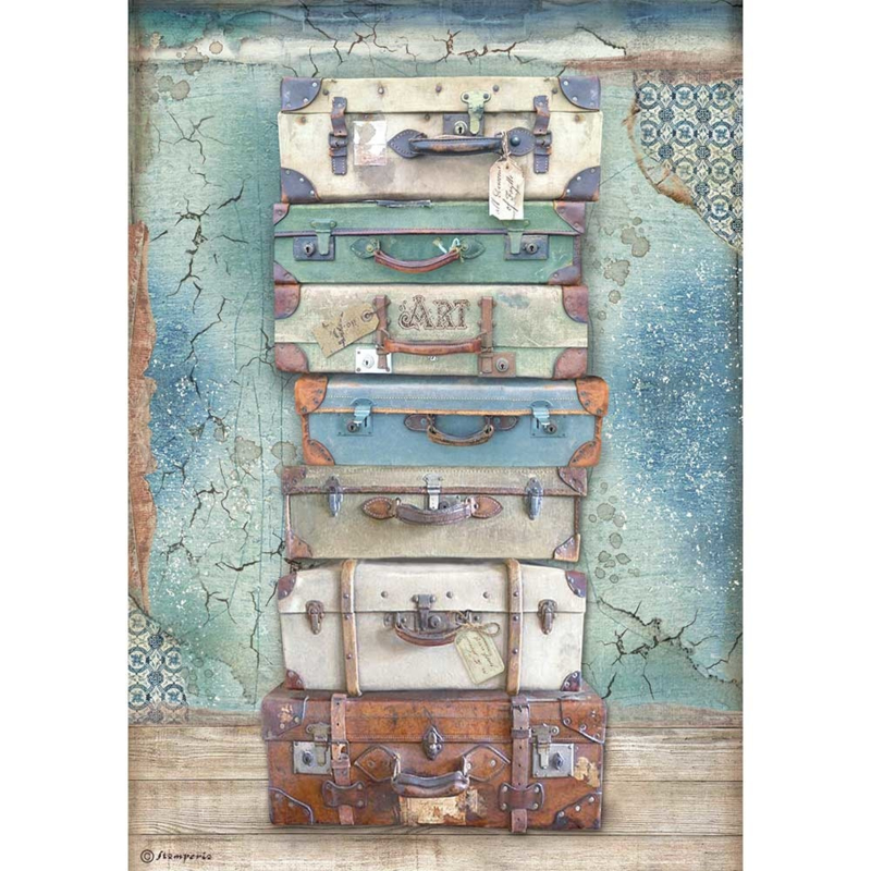 Rice paper 'Atelier Luggage'