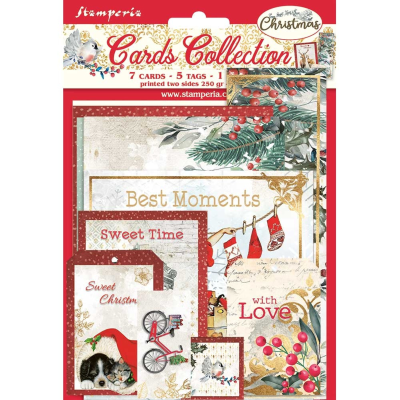 Stamperia Classic Christmas 'Cards'