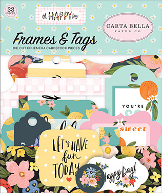 'Oh Happy Day' Frames & Tags