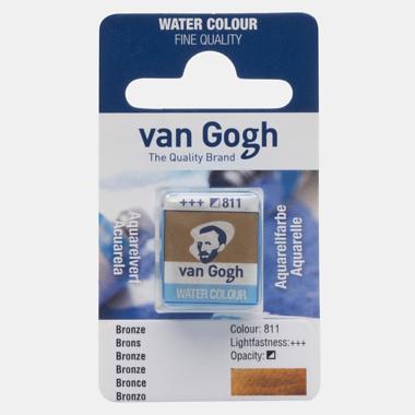 van Gogh Water Color napje 811 'Brons'