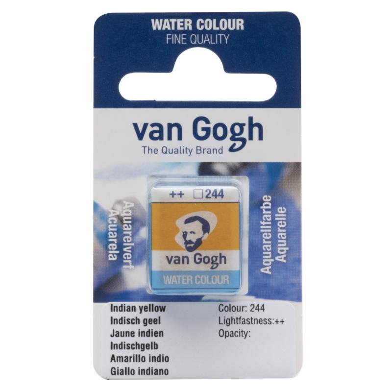 van Gogh Water Color napje 244  'Indisch Geel'