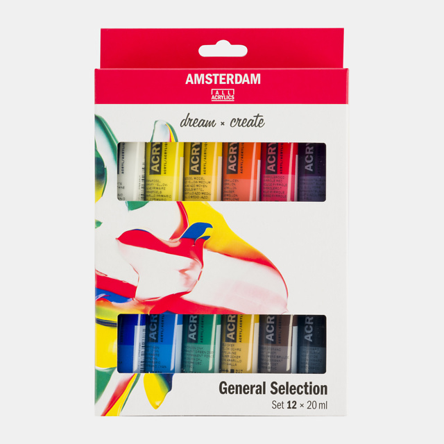 Amsterdam acrylverf 'General Selection 2'