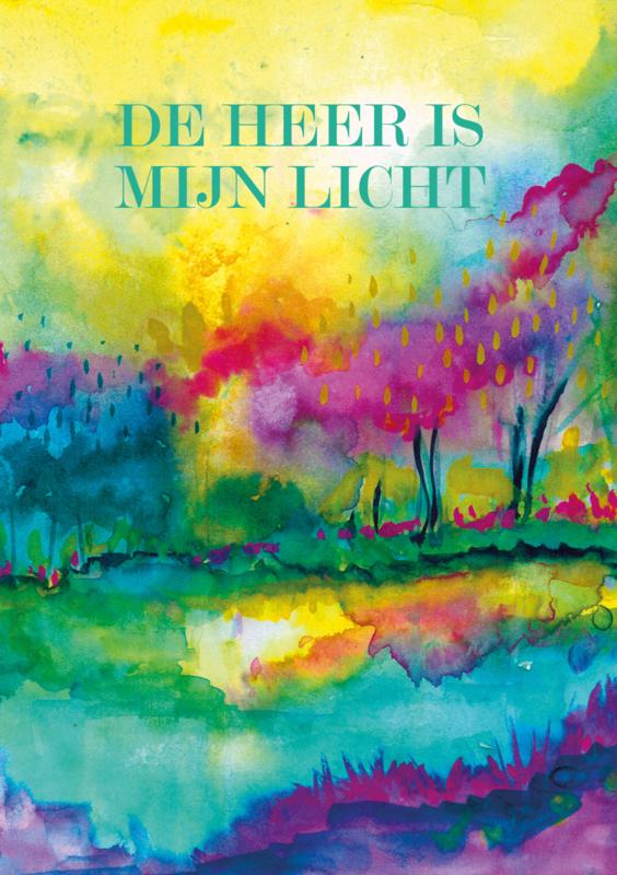 Vellum 'De Heer is mijn licht'