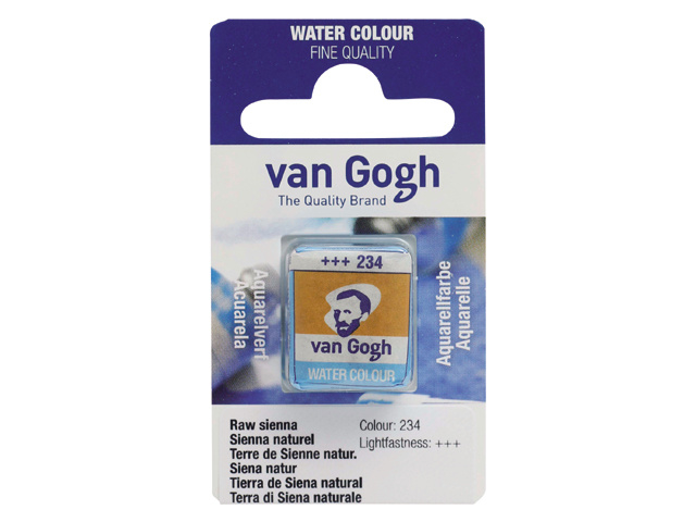 van Gogh Water Color napje 234 'Sienna naturel'