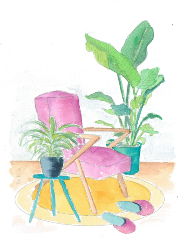 Watercolor it yourself  2. 'Thuis'