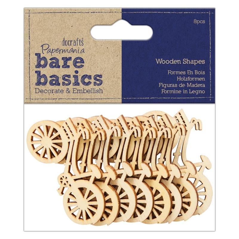 Mini wooden shapes 'Bike'