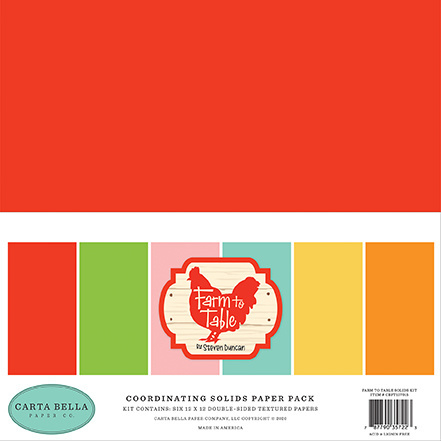 'Farm to table 'paper pack