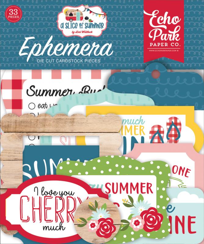 'A Slice of Summer' Ephemera