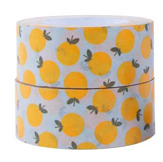 Grote rol papiertape 'Limon'