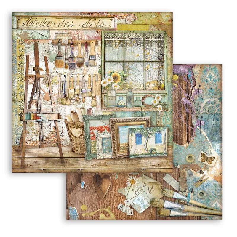 Paper sheet 'Atelier Easel'