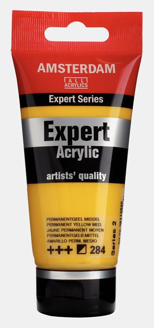 Amsterdam Acrylverf Expert 'Perm. Geel Middel'