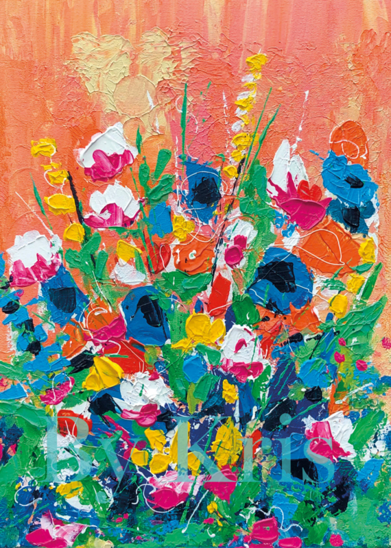 A4 Print 'Flowers By Kris 03'