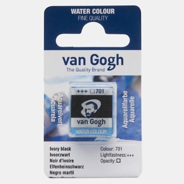 van Gogh Water Color napje 701 'Ivoorzwart'