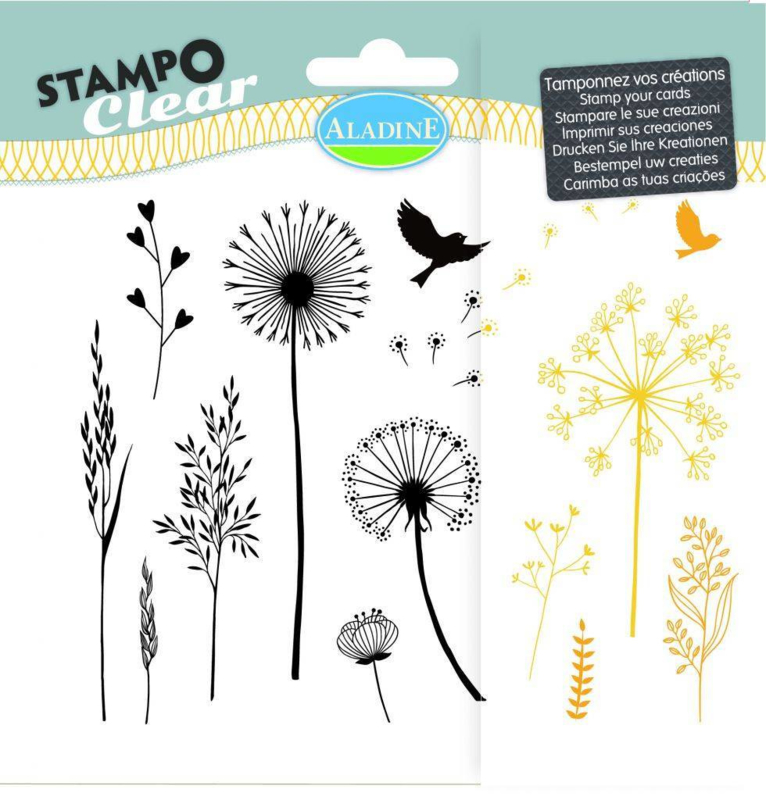 Clearstamps 'Clear Graminé'