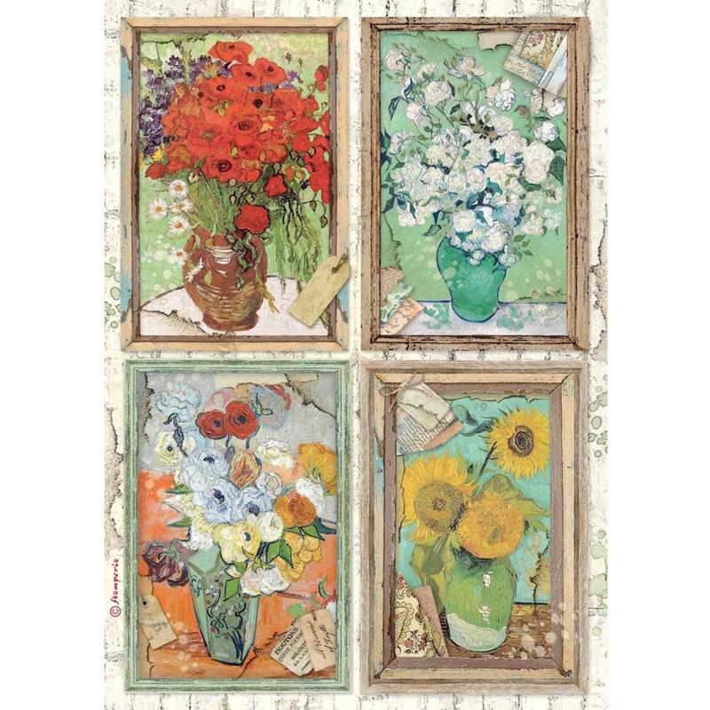 Rice paper 'Atelier Van Gogh'