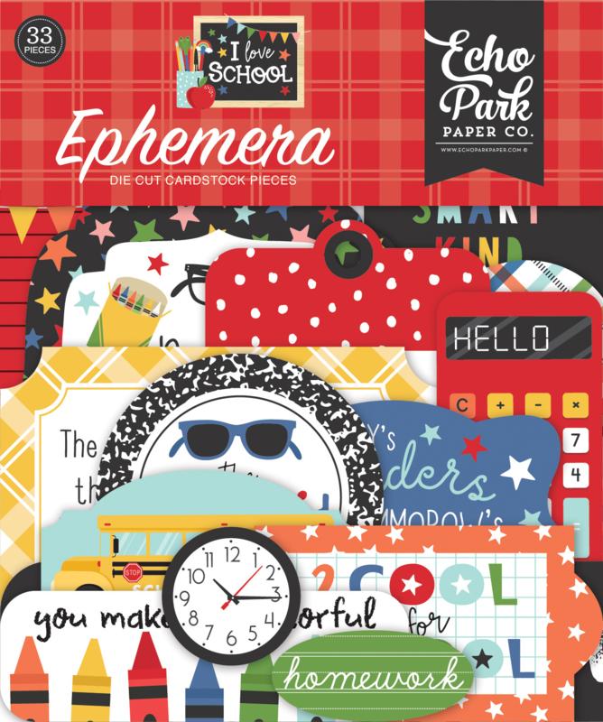 'I Love School' Ephemera